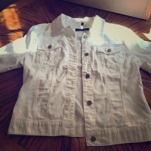 J Brand like new large jean jacket